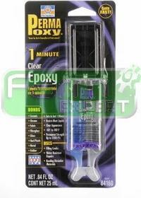 Permatex klej epoksydowy przezroczysty 1 minutowy 25ml RM-60-023