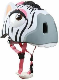 Crazy Safety Kask dziecięcy Zebra