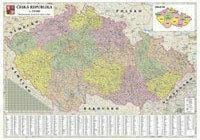 B2B Partner Mapa administracyjna Czech 173018