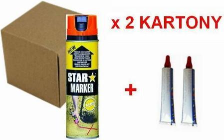Ampere System PROMOCJA!!! 24 x Farba STAR MARKER + 2 x Pasta Geodezyjna GR