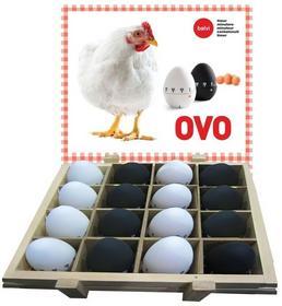 Balvi Gifts S.L Balvi: Minutnik kuchenny w kształcie jajka - biały 24387