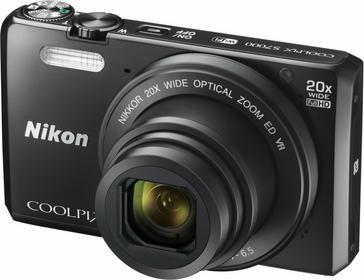 Nikon Coolpix S7000 czarny