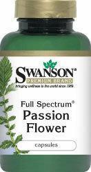 SWANSON Passion Flower 60 szt.