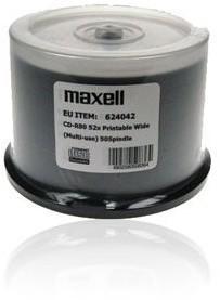 Maxell CD-R 700MB/80MIN 52 x 50szt. Printable Id: 624042