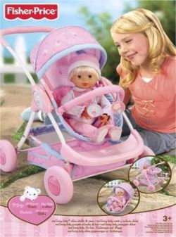 Fisher Price My Baby Stroller & Carriage 70074