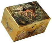 Spieluhrenwelt Ballerina 28029 szkatułka na biżuterię dla dzieci, z pozytywką z melodią z Jeziora łabędziego