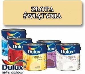 Dulux Kolory Świata ZŁOTA ŚWIĄTYNIA 5L HAN09032