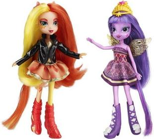 Hasbro My Little Pony Equestria Girls - Lalka dwupak Sunset Shimmer i Twilight Sparkle A3997