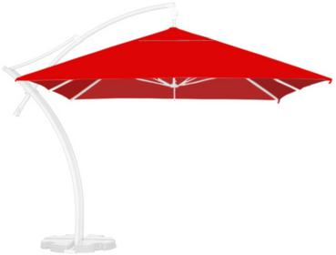 LITEX Promo Sp. z o.o. Poszycie parasola ogrodowego Ibiza Quattro 3,5x3,5m Quatt