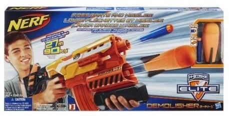 Hasbro N-Strike - Karabin Elite Demolisher 2w1 A8494