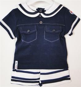 Komplet marynarski Koszulka + spodnie ZIPZAP
