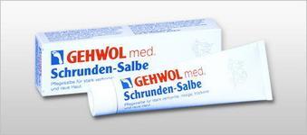 Gehwol Schrunden- Salbe  Maść na zrogowaceania 125ml