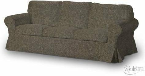Dekoria Pokrowiec na sofę Ektorp 3-osobową, nierozkładaną Living melanż