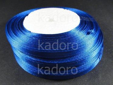 Wstążka atłasowa 6 mm ciemnoniebieska - rolka