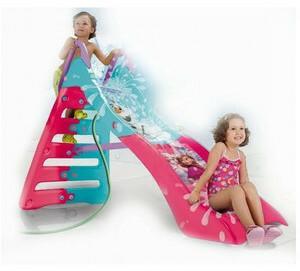 Injusa zjeżdżalnia dla dziecka Frozen Kraina Lodu ślizg wodny !