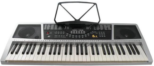 Import SUPER-TOYS Wielki keyboard 61 klawiszy MK-108 Nowość+kurs VID