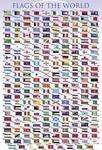 Flagi Państw Świata - Plakat