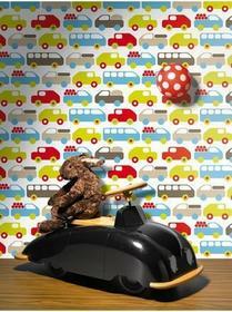Lavmi Tapeta ścienna w autka Kiss for Kids 123901