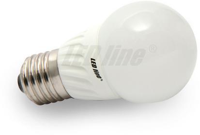 LED Line Żarówka 12 LED E27 SMD2835 230V 4W ciepła GLOBE 243271