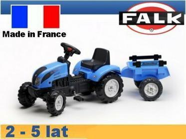 Falk Traktor Landini z przyczepą FA2050C