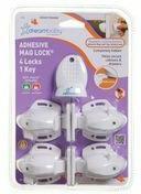 Dream Baby Magnetyczne zamknięcie zabezpieczające Mag Lock z klejem - PCR856P