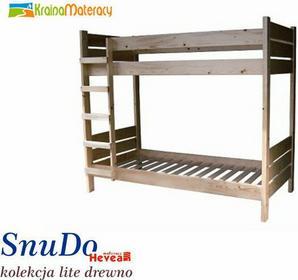 Hevea Łóżko piętrowe SNUDO 180x80