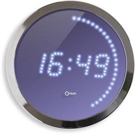 CEP ścienny LED, 30cm, niebiesko-srebrny C11625-19