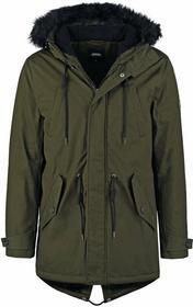 Burton Menswear London STUART parka oliwkowy 06P03HKHK