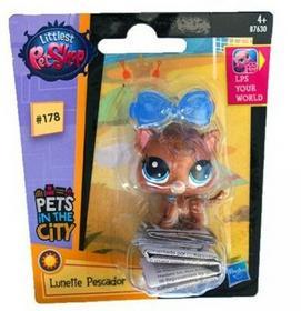 Hasbro LPS Figurka podstawowa B, Fisher Cat WFHASB0DCI00009