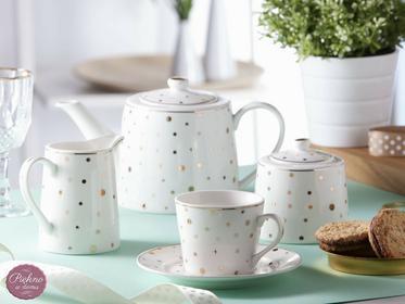 Altom No Zestaw do kawy herbaty dla 6 osób porcelana Klarisa