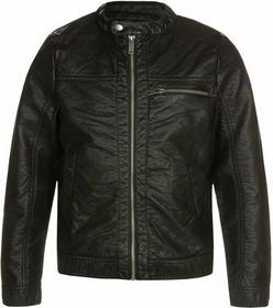 Outfitters Nation OFNMUST Kurtka ze skóry ekologicznej black 24016383