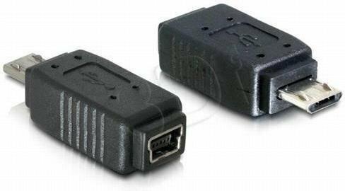 Delock Adapter USB MINI(F)->USB MIKRO(M)