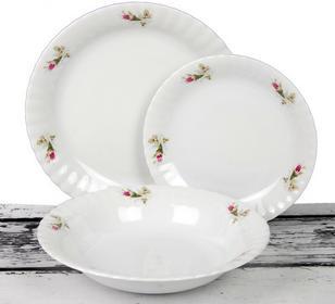 Chodzież Komplet talerzy na 6 osób (18 el) - Iwona 0039