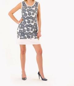 DaWanda.pl włoska sukienka w jeansowe wielokolorowe 85960827 female