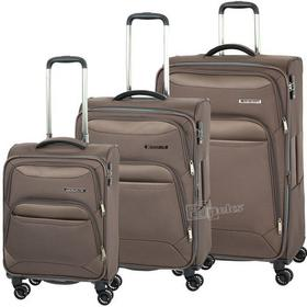 Travelite Kendo zestaw walizek - brązowy 86642-60