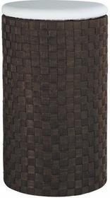 Wenko Kosz na pranie ADRIA DARK BROWN - pufa, 2w1 - ciemnobrązowy 4008838184509