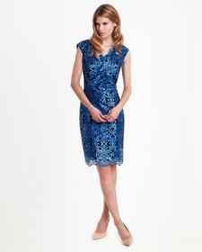 Lame de Femme Sukienka wieczorowa w koronkowy wzór Gala
