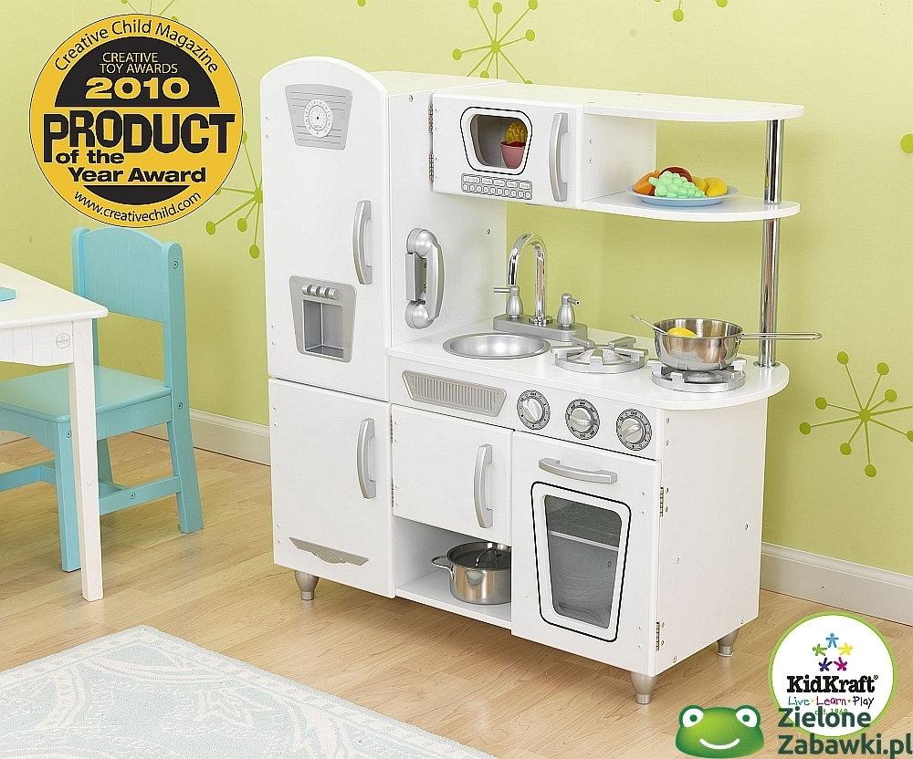 KidKraft Kuchnia drewniana, Biały vintage,  kuchnie dla dzieci – znajdź podo   -> Kuchnia Drewniana Dla Dzieci Kidkraft