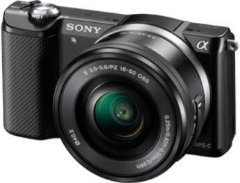Sony ILCE-5000LB + 16-50 kit czarny