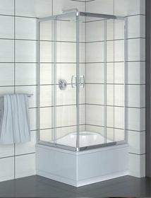 Radaway Premium Plus C 80x80 szkło przejrzyste