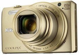 Nikon Coolpix S7000 złoty