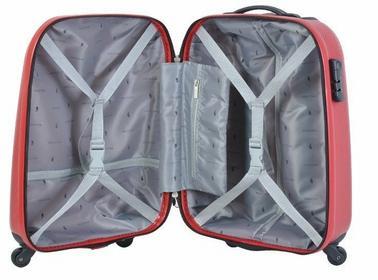 Puccini Mała walizka czerwona ABS02 C