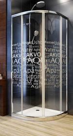 Aquaform Nigra 90x90 szkło inne 100-40062