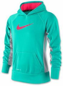 Nike Bluza Dziewczęca KO 2.0 YTH Hoody - hyper jade/hyper pink/hyper pink