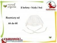 Nanaf Organic Czapeczka kąpielowa kolekcja Klasyczna NK-023 beż