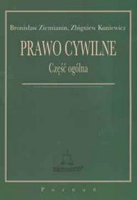Bronisław Ziemianin, Zbigniew Kuniewicz Prawo cywilne. Część ogólna
