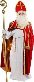 Kostium świętego Mikołaja biskupa (strój prawdziwego Mikołaja) - model deluxe