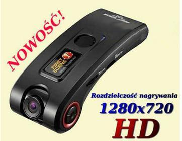 Rejestrator Samochodowy HD+GPS+Antyradar. Profesjonalny Rejestrator Samochodowy