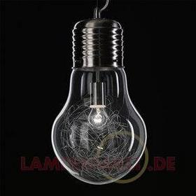 Lampa wisząca FUTURA w kształcie żarówki