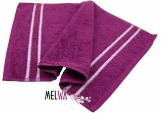 Melwa NA Ręcznik bawełniany 30x50 cm (rm fiol)
